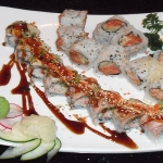 Kamakazha Roll and Spicy Salmon Roll